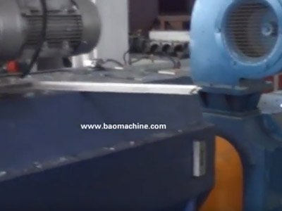 pet granulation line