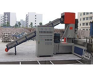 double-stage-pe-pp-film-noodle-granulating-line