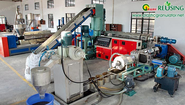 double-stage-pe-pp-film-water-ring-granulating-line