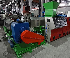 double-stage-pe-pp-flake-water-ring-granulation-line