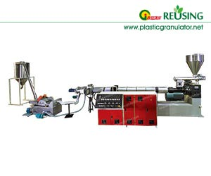 single-stage-pe-pp-flake-water-ring-granulation-line