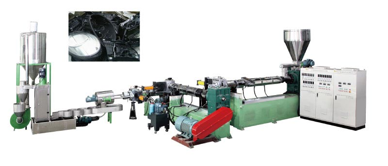 three-stage-abs-water-ring-pelletizing-line